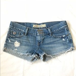Hollister Jean shorts for sale!